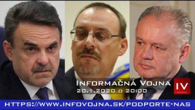 Photo of Informačná vojna 20.1.2020