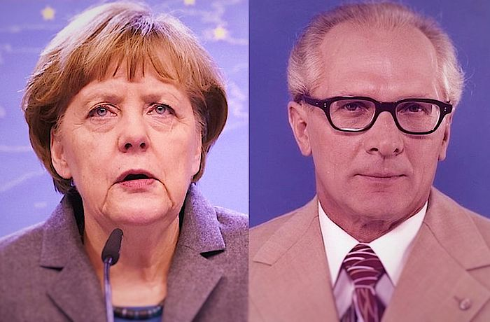Honecker Und Merkel