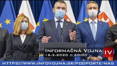 Photo of Informačná vojna 16.3.2020
