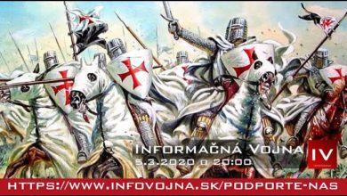Photo of Informačná vojna 5.3.2020: TEMPLÁRI