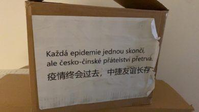 Photo of Čína nechala pro Českou republiku vzkaz na krabicích s dodaným zdravotnickým materiálem: Každá epidemie jednou skončí, ale česko-čínské přátelství přetrvá!