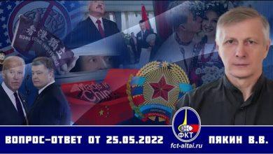 Photo of Otázka – Odpověď V.V. Pjakina ze dne 25.05.2020 Titulky CZINFO!!!