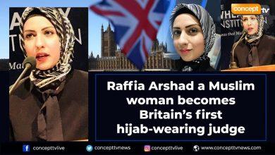 """Photo of Islamizace Británie nabírá na obrátkách. Byla jmenována první muslimská sudkyně """"specialistka na muslimské rodinné právo"""" v hidžábu"""