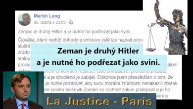 """Photo of """"Poslance pozabíjet, Zemana zabít – podřezat jak svini""""….Podle soudce jde maximálně o přestupek. """"Vojáci si smrt zasloužili"""" … podle žalobce pět let natvrdo, podle mainstreamu a fanatických aktivistů … až patnáct let!"""