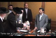 """Photo of VIDEO: Pravoverní ortodoxní židia, vysvetľujú prečo sú """"antisionisti"""", prečo originálni židia bojujú proti sionistom. Stretnutie rabína s iránskym prezidentom v roku 2007"""