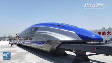 Photo of Čína má nový vlak s rychlostí letadla. Vznáší se nad zemí rychlostí 600 kilometrů za hodinu!