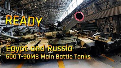 Photo of Egypt podepsal kontrakt na 500 ruských tanků T-90