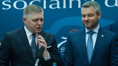 Photo of Víkendový prieskum na Slovensku: Pellegriniho nová strana a Ficov SMER by mali spolu až o 10% viac ako OĽANO!