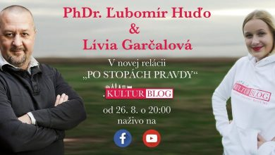 Photo of Po stopách pravdy s Ľubom Huďom a Líviou Garčalovou – Kulturblog 29.7.2020 (VIDEO)
