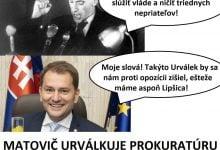 Photo of Matovič chce z prokuratúry urobiť pobočku OĽaNO. Jeho kandidát Lipšic, trestaný za zabitie človeka, prahne po krvi ako kedysi Urválek